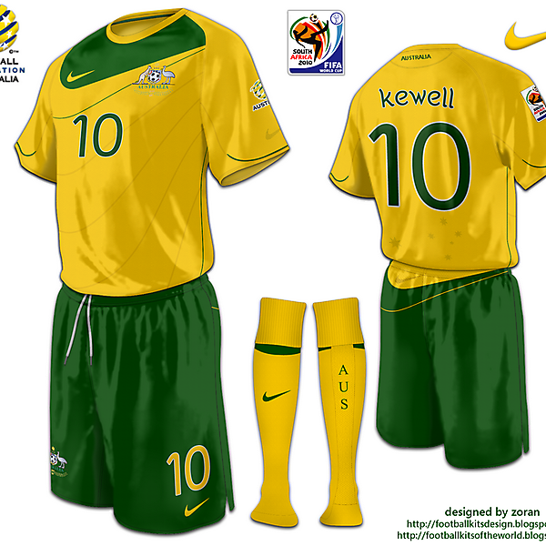Australia World Cup 2010 fantasy home