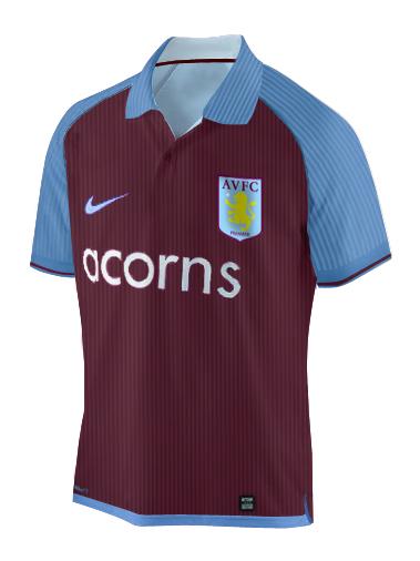 Aston Villa Home 09/10
