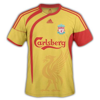 Liverpool [ENG] - Adidas - Away