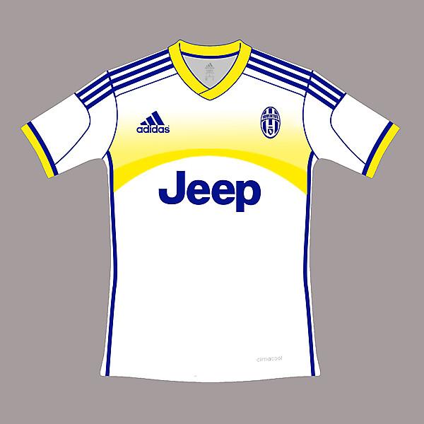away kit juventus adidas 2015
