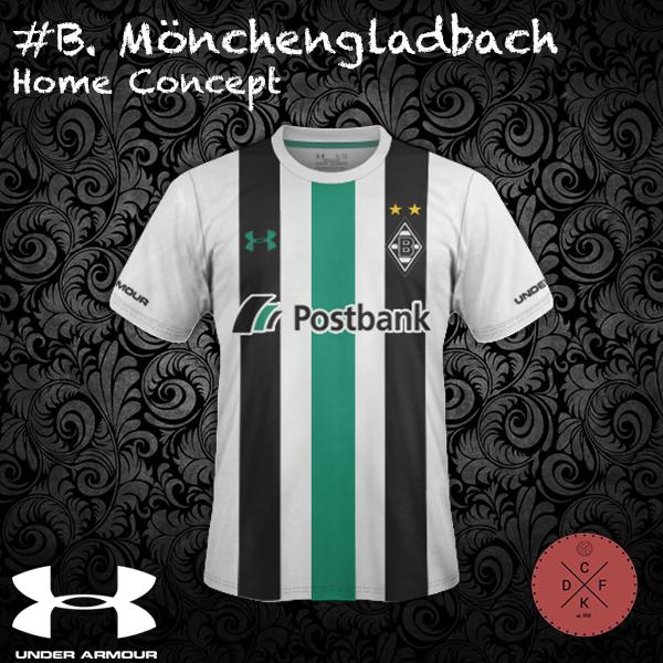 B. Monchengladbach Home Under Armor Concept