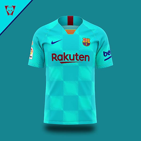 Barca Nike 19/20 away concept