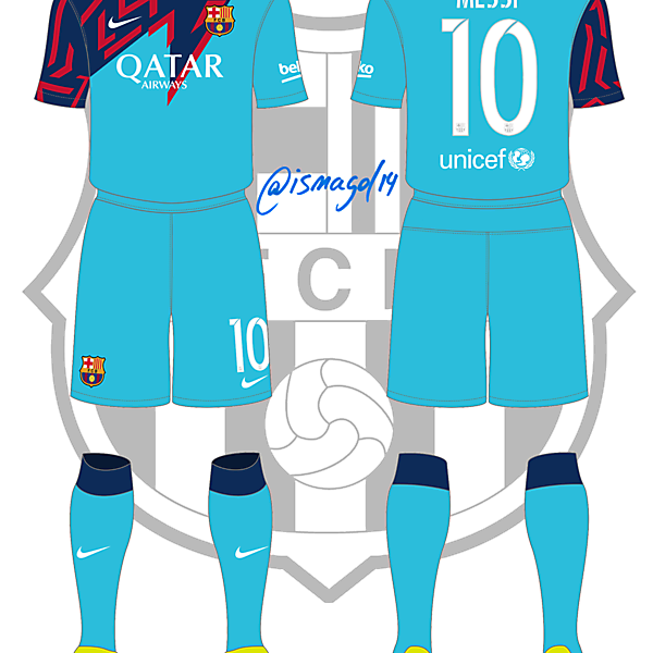 Barcelona - Fantasy 3rd Kit