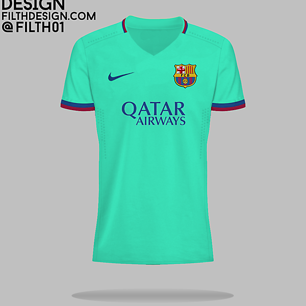 Barcelona 16/17 3rd?