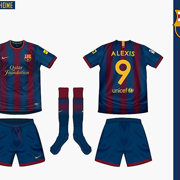 Barcelona Home Nike 2012/13