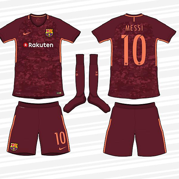 Barcelona 2017/18 Third Kit