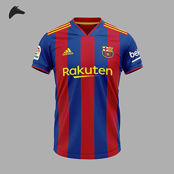 Barcelona adidas home concept