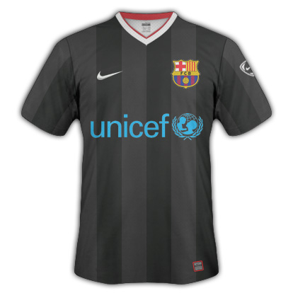 Barcelona away shirt