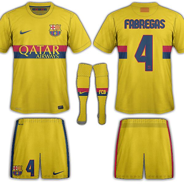 Barcelona away fantasy