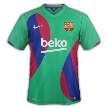 Barcelona Fantasy Away Kit