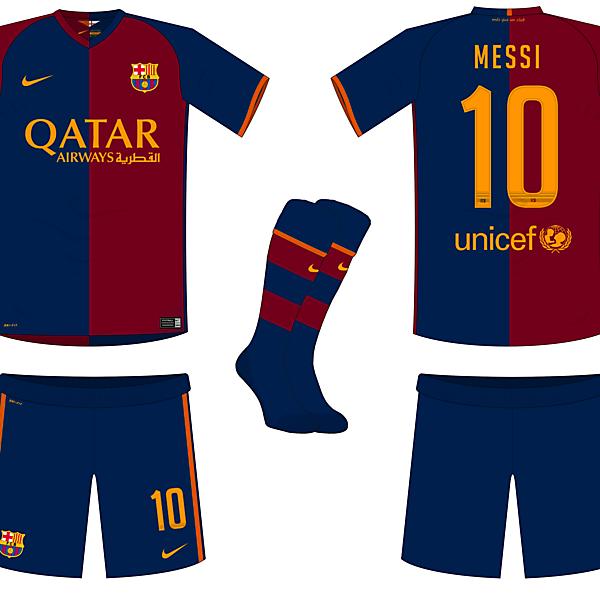 Barcelona Fantasy Home Kit