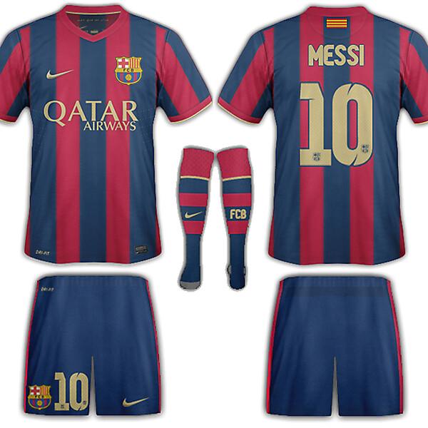 Barcelona home fantasy
