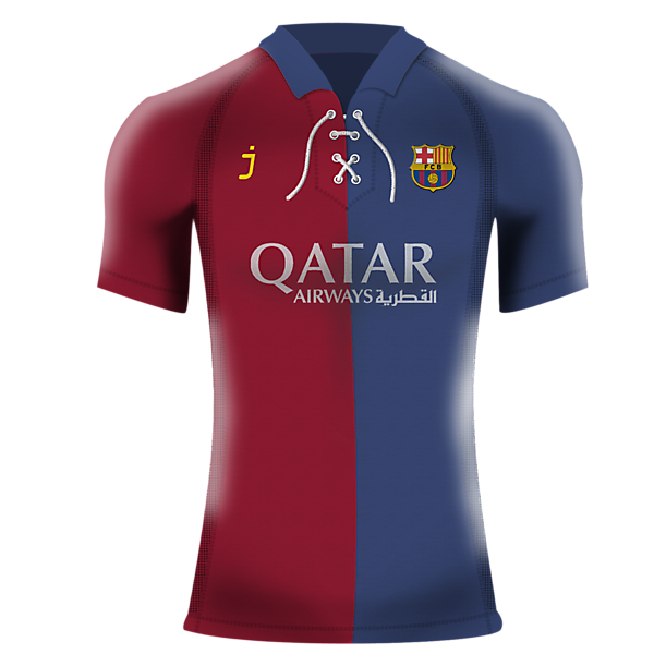 Barcelona Home Shirt by J-sports