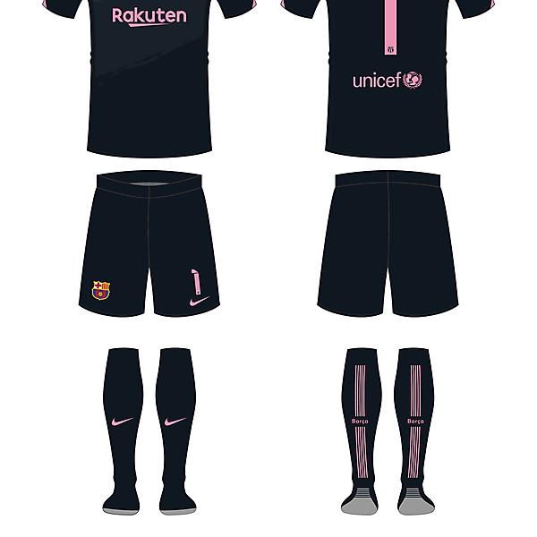 Barcelona keeper kit