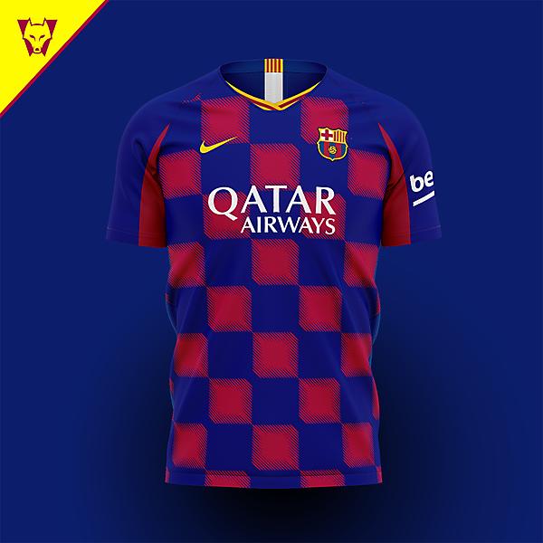 Barcelona Nike home concept