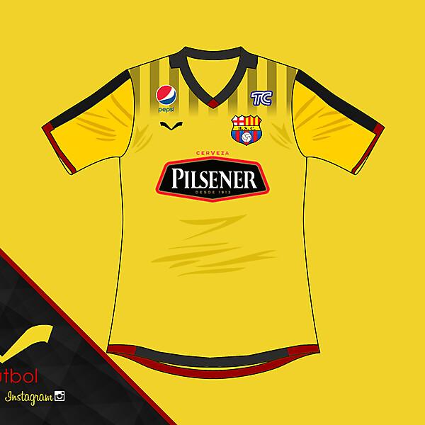 Barcelona SC home kit
