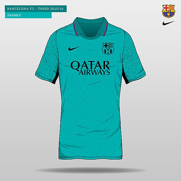 Barcelona Third Kit 2015/16