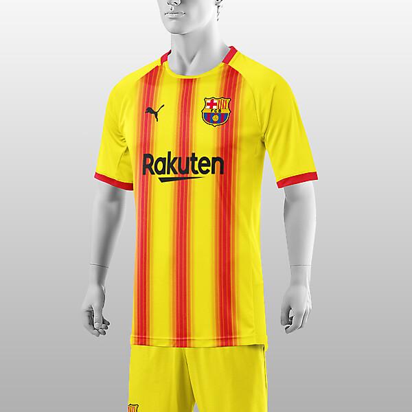 barcelona Third kit 2022