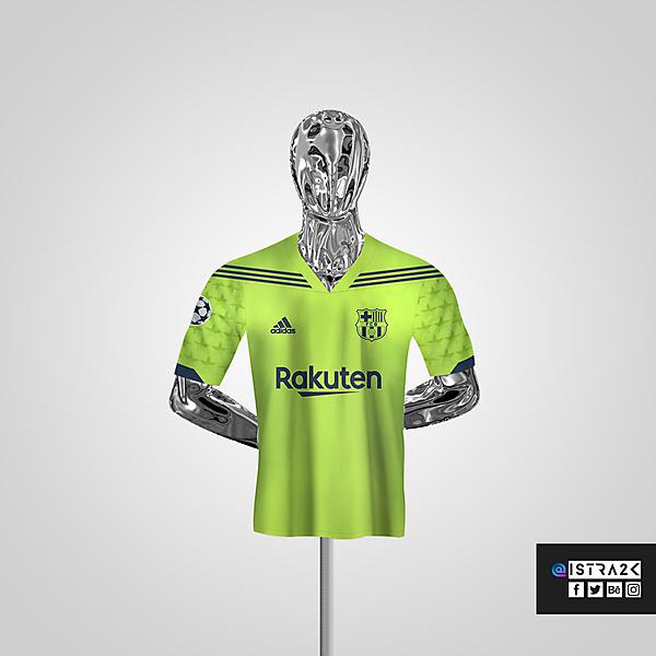 Barcelona X Adidas - Away / UCL Edition