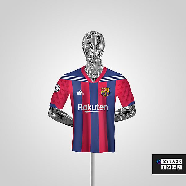 Barcelona X Adidas - Home / UCL Edition