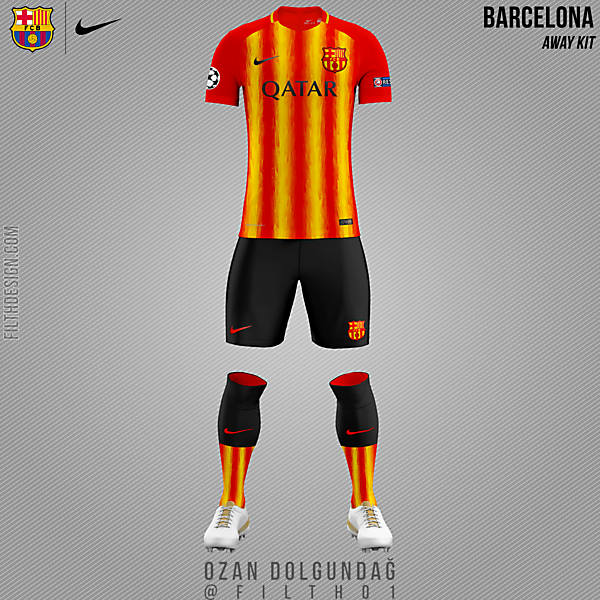 Barcelona x Nike   Senyera Fever
