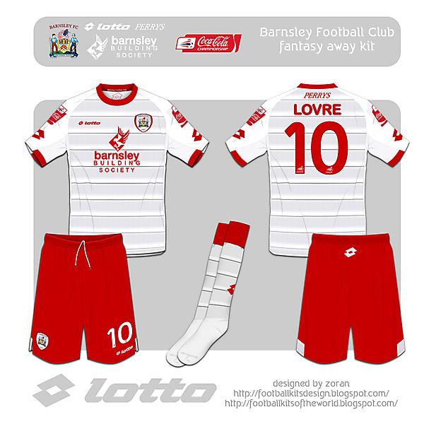 Barnsley F.C. fantasy away