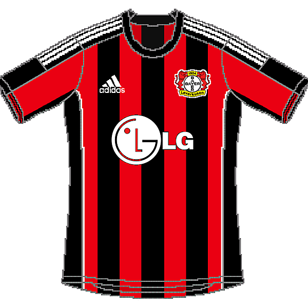 Bayer 04 Leverkusen Adidas Home
