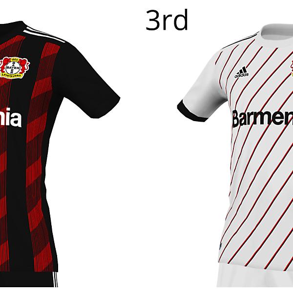 Bayer Leverkusen 20 x Adidas