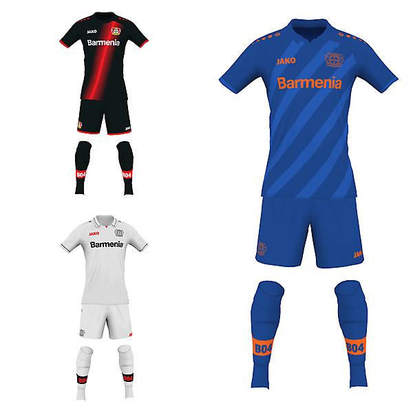 Bayer Leverkusen fantasy kits 19/20