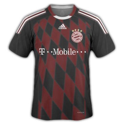 Bayern Munchen Third Euro