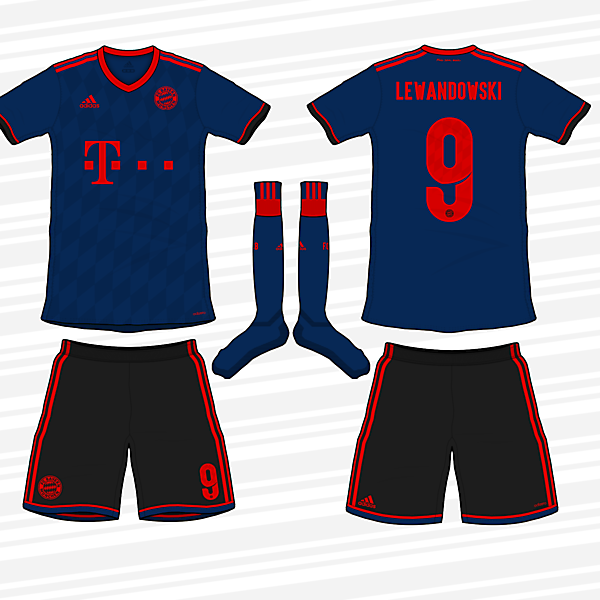 Bayern 2017/18 Away Kit