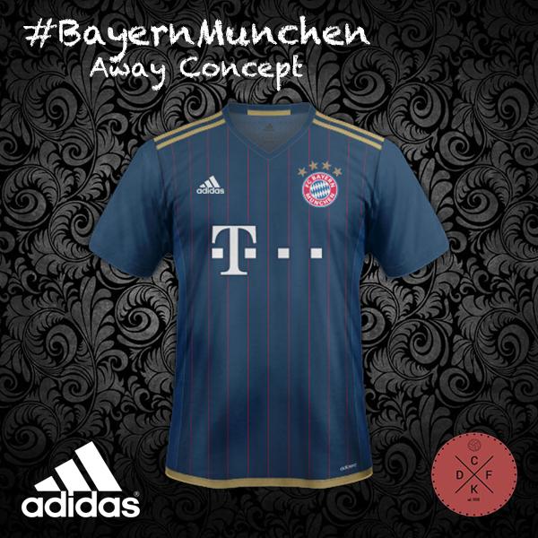 Bayern Away Adidas Concept