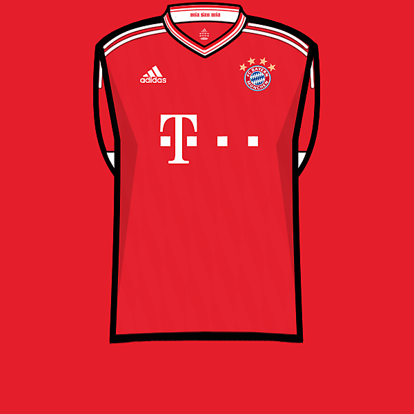 Bayern home 13-14
