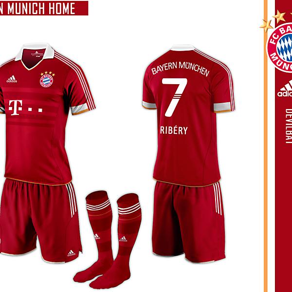 Bayern Munich Home Adidas