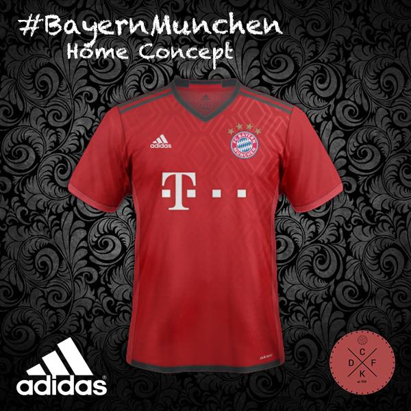 Bayern Home Adidas Concept