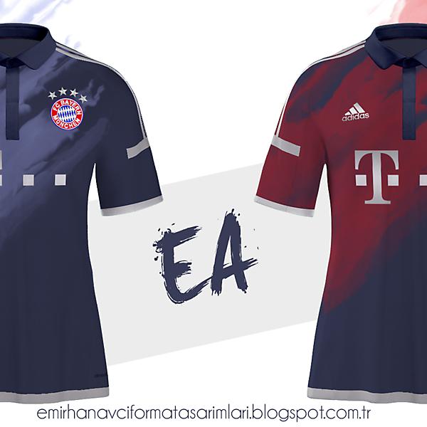 Bayern München 15/16 Away Kit Design