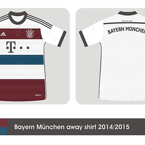 Bayern München away kit 2014/2015 leaked info