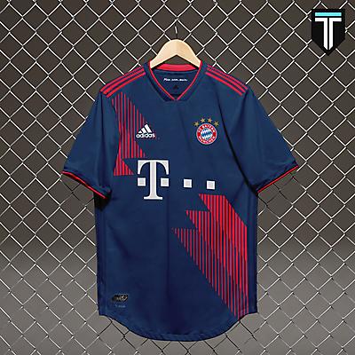 Bayern München x Adidas - Away Kit Concept