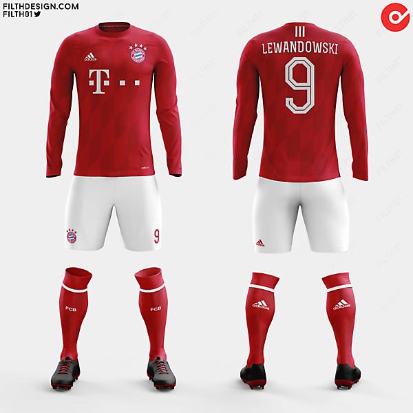 Bayern München x adidas | Home Kit