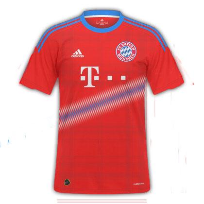 Bayern Münich Home Shirt