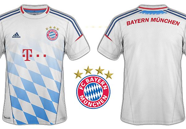 Bayern München away
