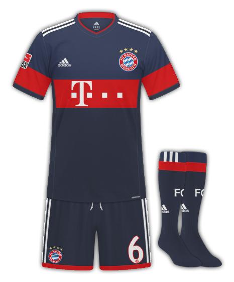 Bayern Munchen away
