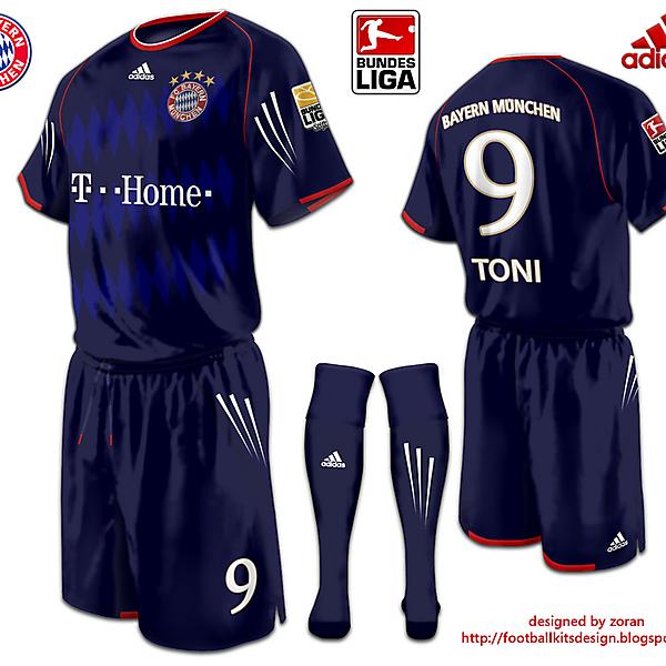 Bayern Munchen fantasy third