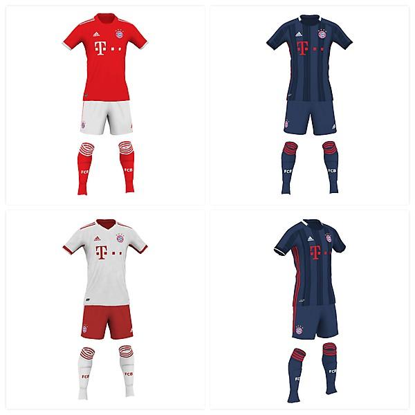 Bayern Munich 19/20 fantasy kits