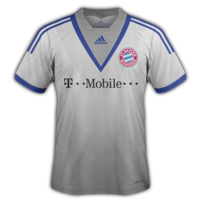 Bayern Munich fantasy kits for 2013/14