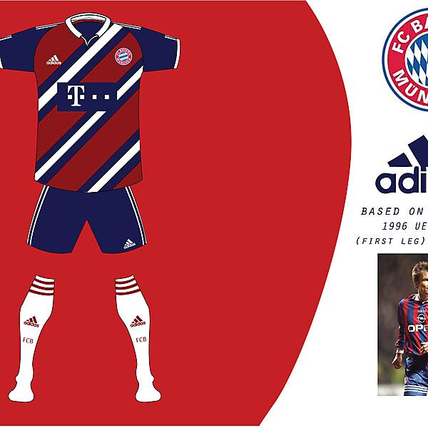 Bayern Munich Champions  League Jersey