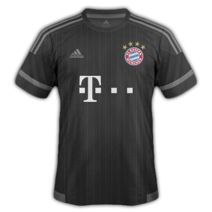 Bayern Munich fantasy Away kit with Adidas