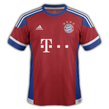 Bayern Munich fantasy Home kit with Adidas