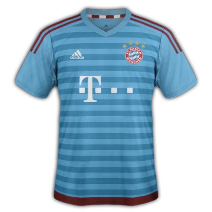 Bayern Munich fantasy Third kit with Adidas