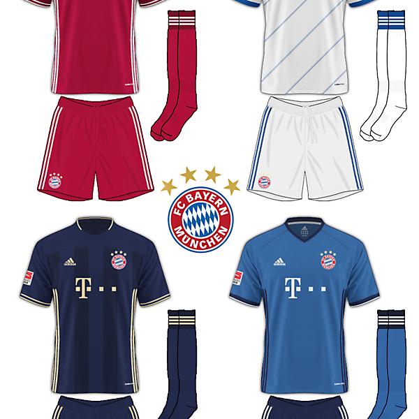 Bayern Munich FC Adidas